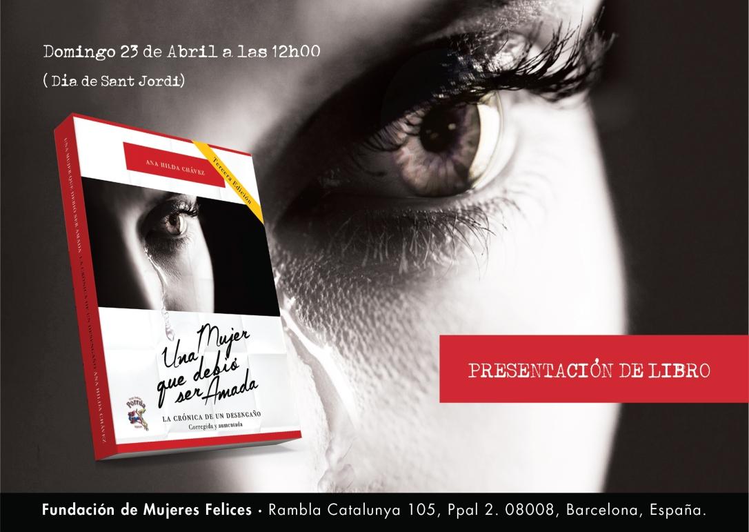 Presentación de Libro: Ana Hilda Chávez: Sant Jordi