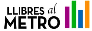 Llibres al metro - LOGO
