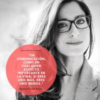 """Mónica Bravo, creadora del método Bravo: """"En comunicación como en cualquier aspecto en la vida: si eres uno más, eres uno menos""""."""