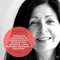 """Entrevista a Teresa Baró directora de Verbal y No Verbal: """"Educar en habilidades de comunicación es invertir en el bienestar y en el progreso individual y colectivo"""""""